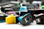 ink cartridge stock image