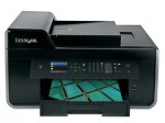 Lexmark's 150, 150XL, and 150XLA ink tanks made their debut in the Lexmark Pro715 (shown) and Pro915