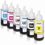 Ink bottles for the Epson L800