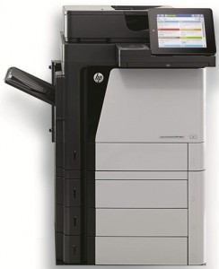 The HP LaserJet Enterprise Flow MFP M630 series
