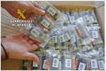 Some of the allegedly patent-infringing cartridges seized by the Guardia Civil shown in  the law-enforcement agency's press release.