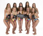 The U.S. National Synchronized Swimming Team is helping to promote Epson's EcoTank inkjet all-in-ones