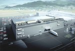 An image of the new Akita Epson inkjet print-head factory that will be built