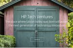 Screenshot from the HP Tech Ventures site