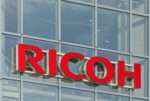 Ricoh-sign-on-building