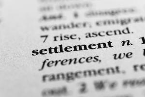 settlement-settle