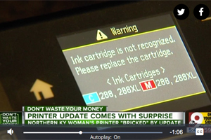 Epson Firmware Update May Lock Out Some Aftermarket Inkjet