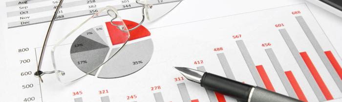 chart financials